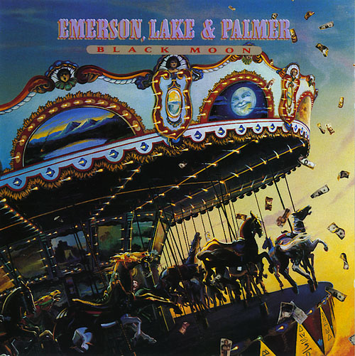 Black Moon by EMERSON LAKE & PALMER album cover