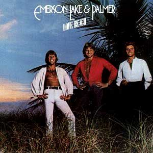Emerson Lake & Palmer - Love Beach CD (album) cover
