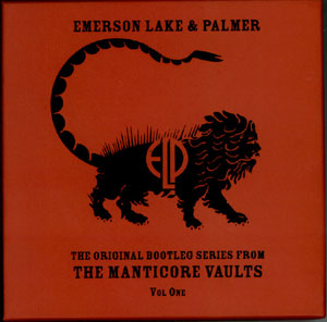 Emerson Lake & Palmer Original Bootleg Series From The Manticore Vaults Vol. 1 album cover