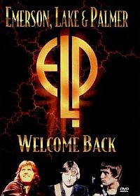 Emerson Lake & Palmer - Welcome Back CD (album) cover
