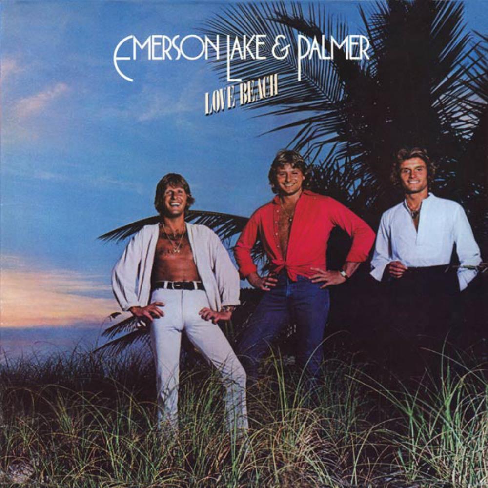 Love Beach by EMERSON LAKE & PALMER album cover