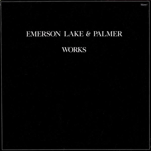 Emerson Lake & Palmer - Works Vol. 1  CD (album) cover