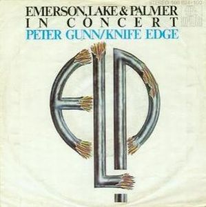 Emerson Lake & Palmer Peter Gunn album cover