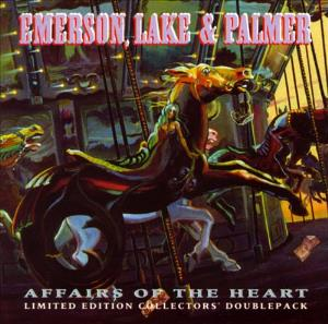 Emerson Lake & Palmer Affairs Of The Heart (limited edition collectors doublepack) album cover