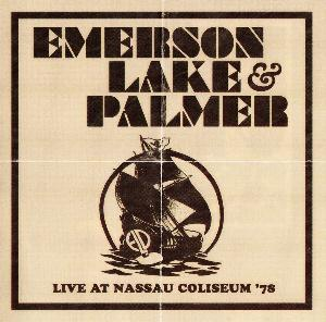 Emerson Lake & Palmer Live At Nassau Coliseum '78 album cover