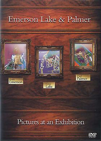 Emerson Lake & Palmer - Pictures At An Exhibition - 35th Anniversary Collectors Edition CD (album) cover