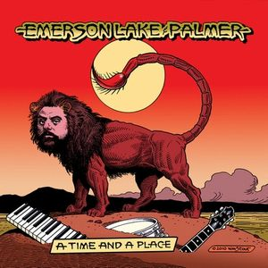 Emerson Lake & Palmer A Time And A Place album cover