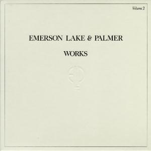 Works Vol. 2 by EMERSON LAKE & PALMER album cover