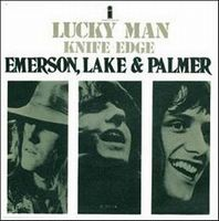 Emerson Lake & Palmer Lucky Man / Knife Edge album cover