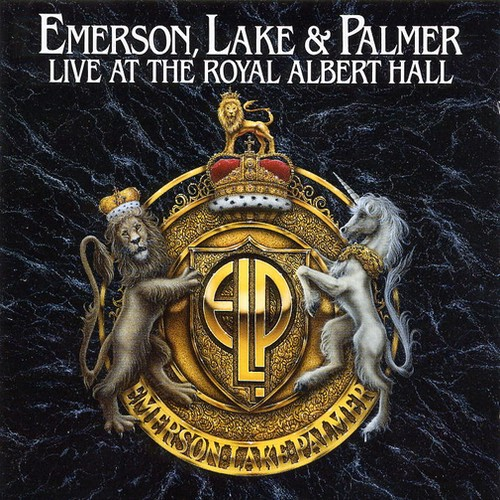 Emerson Lake & Palmer Live At The Royal Albert Hall album cover