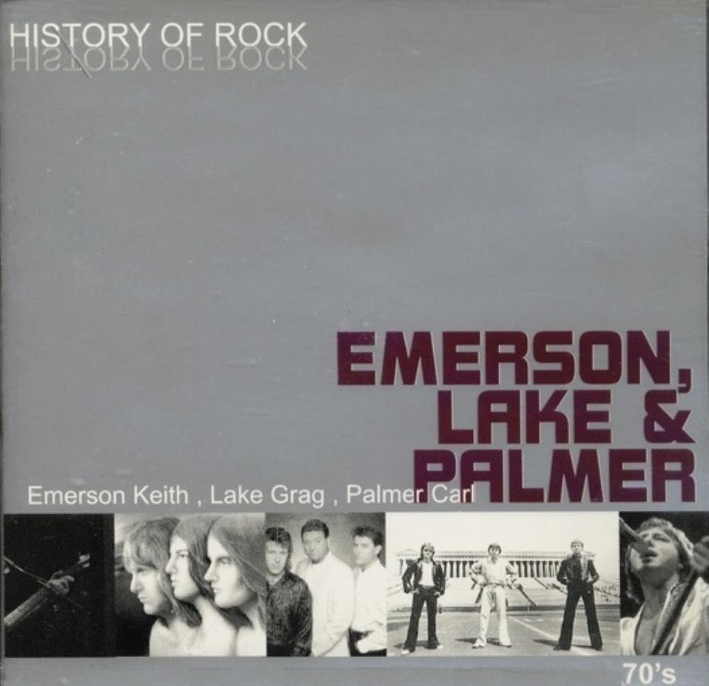 Emerson Lake & Palmer History Of Rock album cover