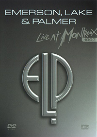 Emerson Lake & Palmer Live At Montreux 1997 (DVD) album cover