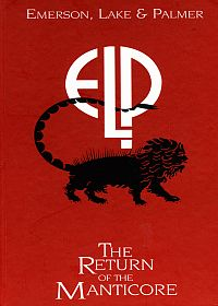 Emerson Lake & Palmer The Return Of The Manticore album cover