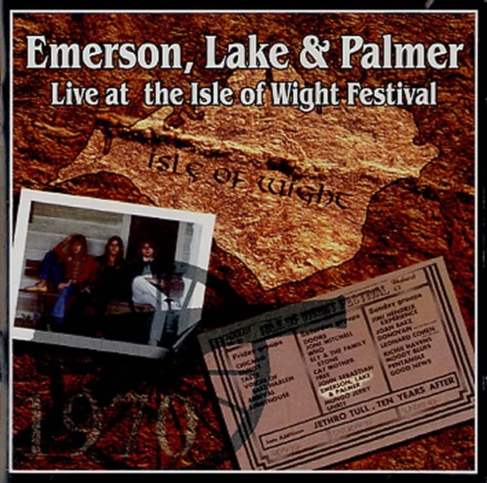 Emerson Lake & Palmer - Live At The Isle Of Wight Festival 1970 CD (album) cover