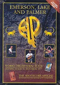 Emerson Lake & Palmer Works Orchestral Tour/Manticore Special album cover