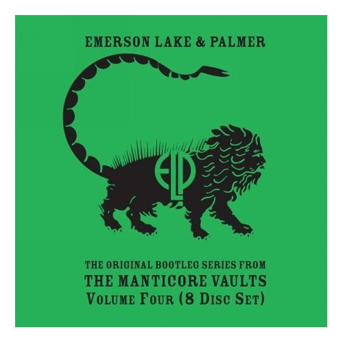 Emerson Lake & Palmer Original Bootleg Series from the Manticore Vaults, Vol. 4 album cover