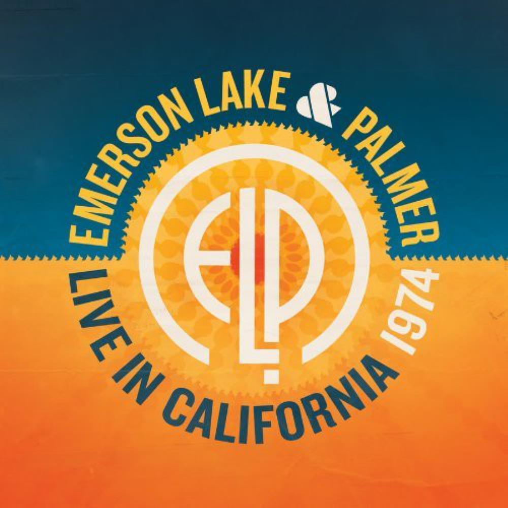 Live in California 1974 by EMERSON LAKE & PALMER album cover