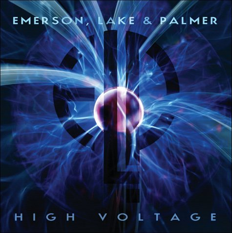Emerson Lake & Palmer High Voltage album cover