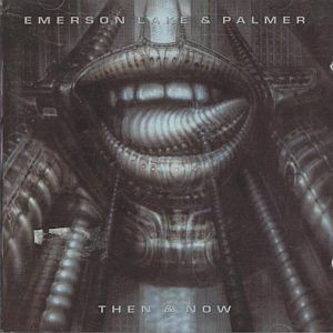 Emerson Lake & Palmer Then And Now album cover