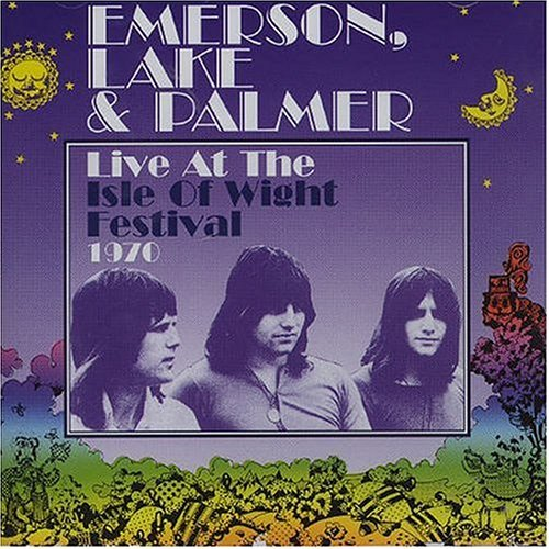 Emerson Lake & Palmer Live At The Isle Of Wight Festival 1970 album cover