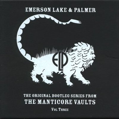 Emerson Lake & Palmer Original Bootleg Series From The Manticore Vaults Vol. 3 album cover