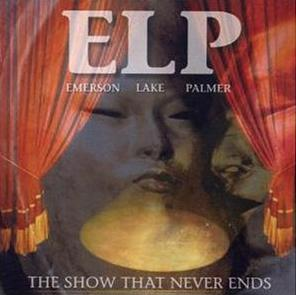 Emerson Lake & Palmer The Show That Never Ends album cover