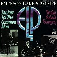 Emerson Lake & Palmer Fanfare For The Common Man  album cover