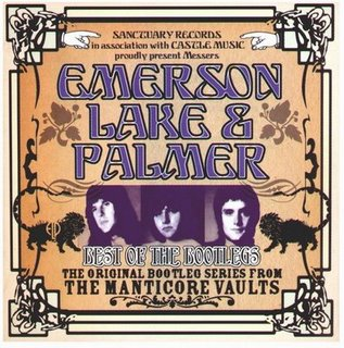 Emerson Lake & Palmer Best of the Bootlegs album cover