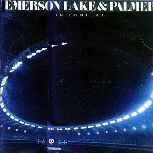 Emerson Lake & Palmer - Emerson Lake & Palmer In Concert  CD (album) cover