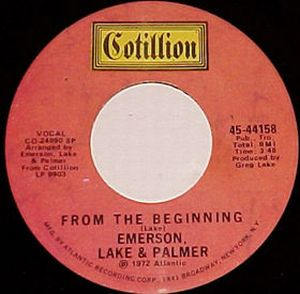 Emerson Lake & Palmer - From the Beginning CD (album) cover
