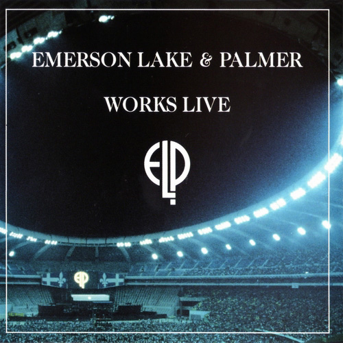 Emerson Lake & Palmer Works Live  album cover