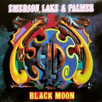 Emerson Lake & Palmer Black Moon album cover
