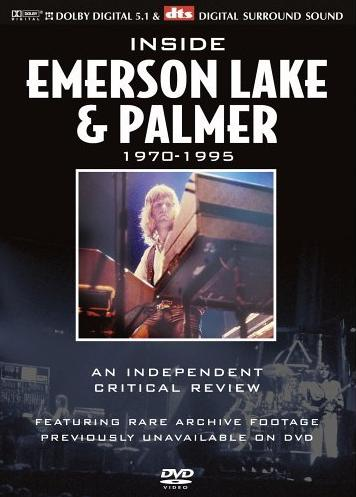 Emerson Lake & Palmer Inside Emerson, Lake & Palmer 1970-1995 album cover