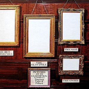 Emerson Lake & Palmer - Pictures At An Exhibition CD (album) cover