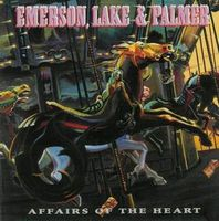 Emerson Lake & Palmer Affairs of the Heart album cover