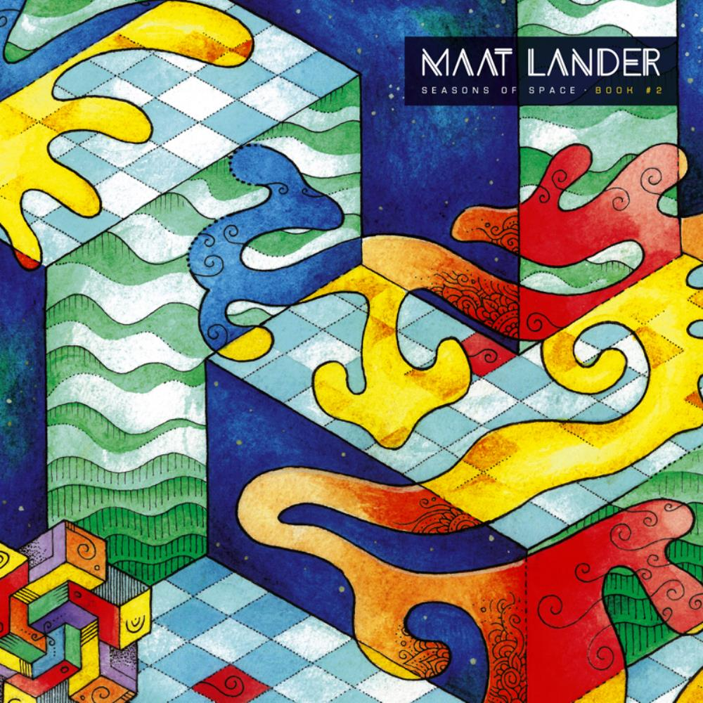 Seasons Of Space - Book #2 by MAAT LANDER album cover