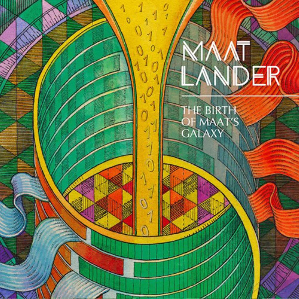 The Birth Of Maat's Galaxy by MAAT LANDER album cover