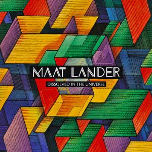 Dissolved In The Universe by MAAT LANDER album cover