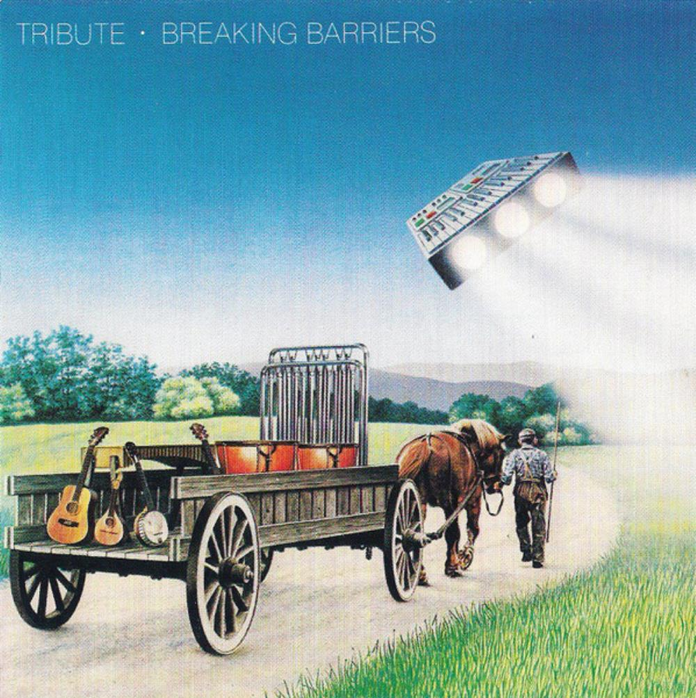 Breaking Barriers by TRIBUTE album cover