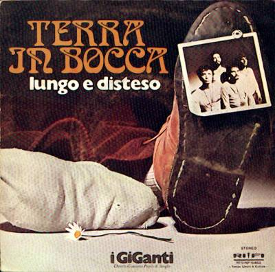 I Giganti - Terra In Bocca CD (album) cover