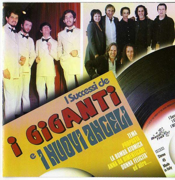 I Successi de I GiGanti e Nuovi Angeli ('Juke Box Italy' serie) by GIGANTI, I album cover