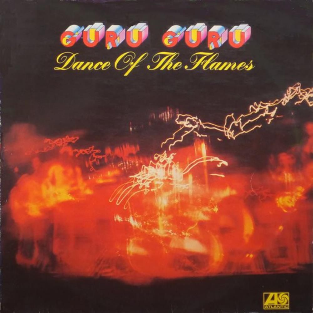 Dance Of The Flames by GURU GURU album cover