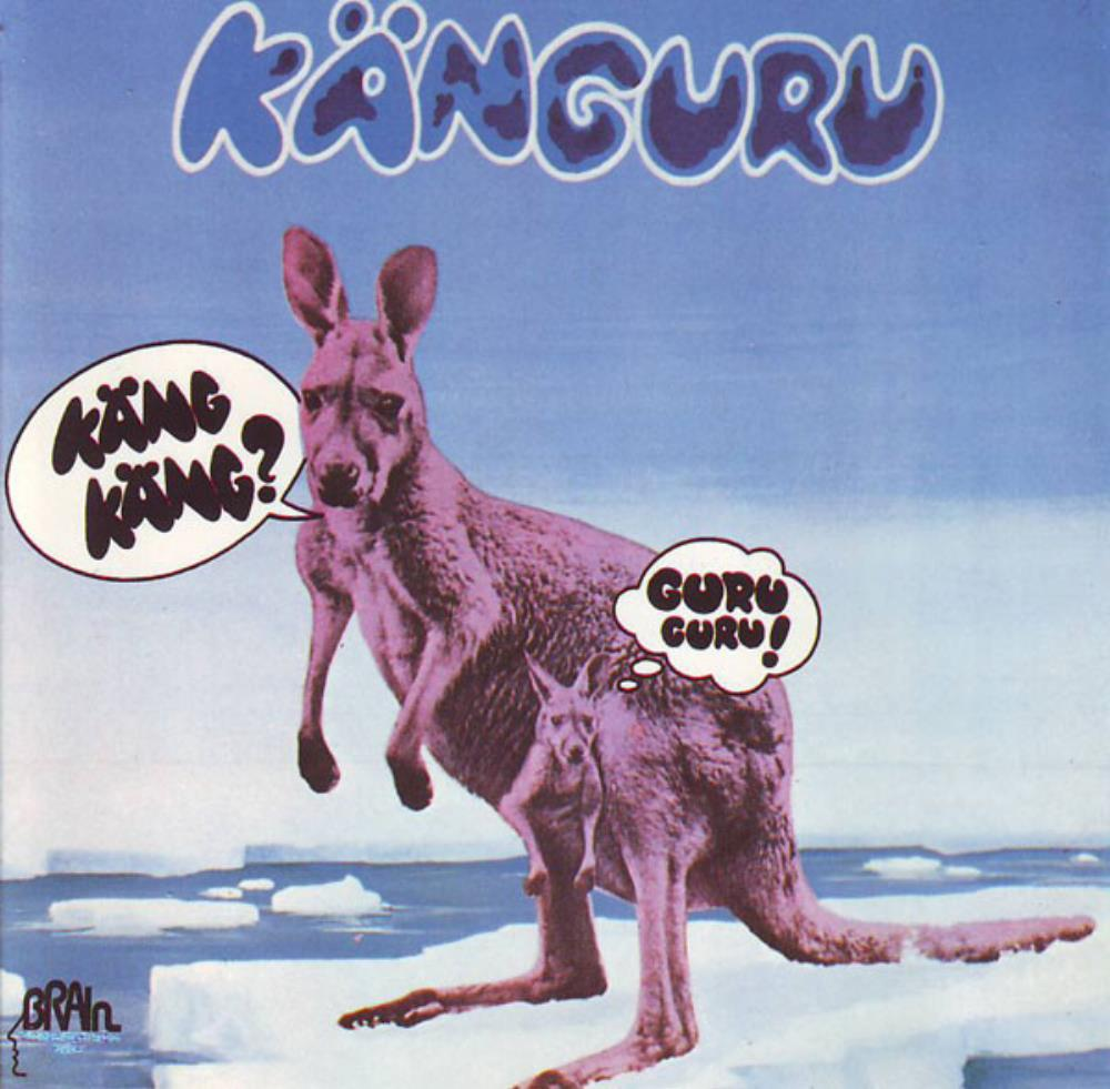 Guru Guru - Känguru CD (album) cover