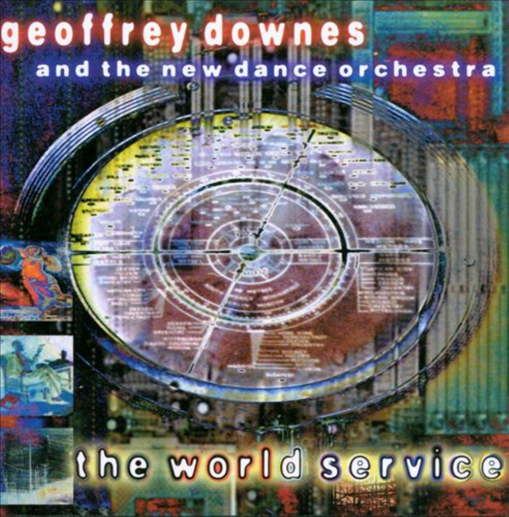 Geoffrey Downes & New Dance Orchestra: The World Service by DOWNES, GEOFFREY album cover