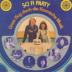 The Cosmic Jokers - Sci-Fi Party CD (album) cover