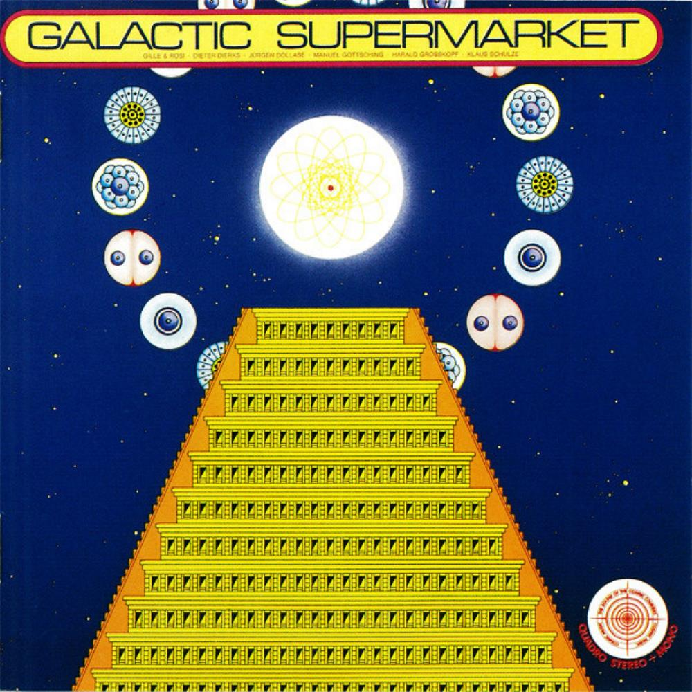 Galactic Supermarket by COSMIC JOKERS, THE album cover