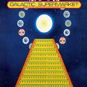 The Cosmic Jokers - Galactic Supermarket CD (album) cover