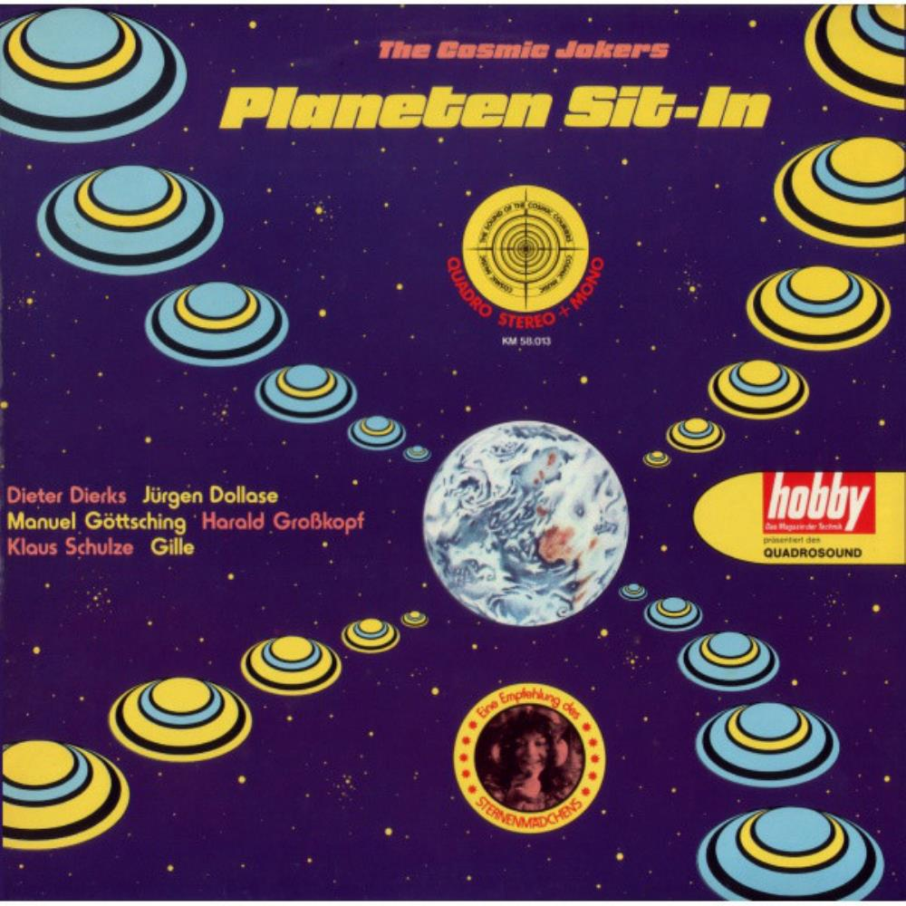 Planeten Sit-In by COSMIC JOKERS, THE album cover