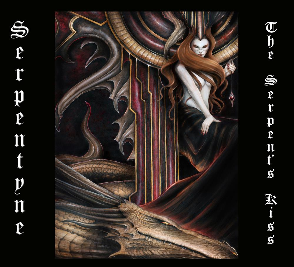 The Serpent's Kiss by SERPENTYNE album cover