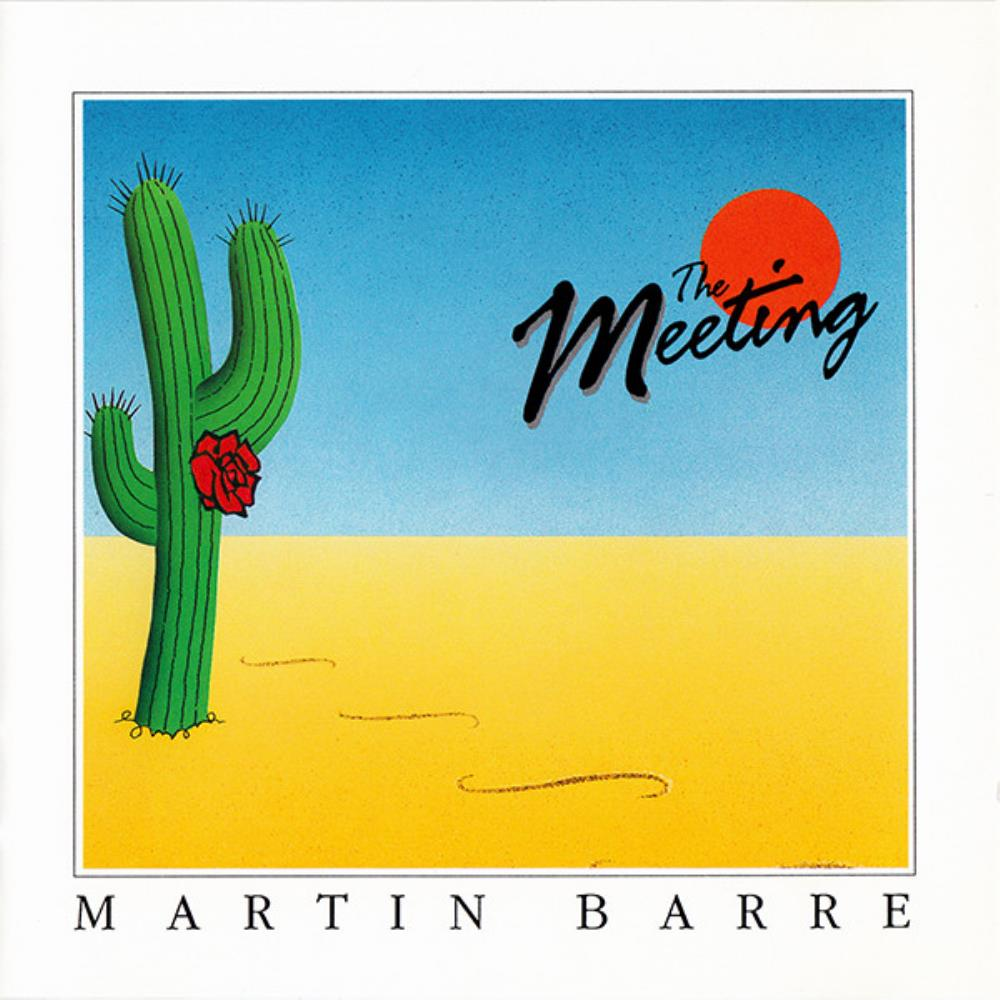 The Meeting by BARRE, MARTIN album cover